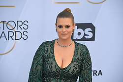 January 27, 2019 - Los Angeles, California, U.S - MARIANNA PALKA during silver carpet arrivals for the 25th Annual Screen Actors Guild Awards, held at The Shrine Expo Hall. (Credit Image: © Kevin Sullivan via ZUMA Wire)