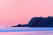 Gulf of St. Lawrence at dusk<br /> Trout River<br /> Newfoundland & Labrador<br /> Canada