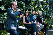 Nathan Hammons from Marquette Law School at the Wisconsin Entrepreneurship Conference at Venue 42 in Milwaukee, Wisconsin, Wednesday, June 5, 2019.