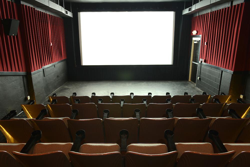Interior view of the Nightlight Cinema.