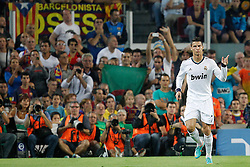 07-10-2012 VOETBAL: BARCELONA - REAL MADRID: BARCELONA<br /> Cristiano Ronaldo goal  // during during the Spanish Primera Division 7th round match between Barcelona FC and Real Madrid CF at Camp Nou, Barcelona<br /> ***NETHERLANDS ONLY***<br /> ©2012-FotoHoogendoorn.nl-Cesar Cebolla