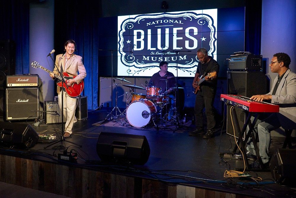 The National Blues Museum in St. Louis, Missouri