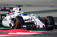 BOTTAS valtteri (fin) williams f1 mercedes fw37 action during Formula 1 winter tests 2015 at Barcelona, Spain from February 19th to 22nd. Photo DPPI / Jean Michel Le Meur.