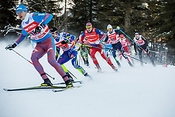 6 x 1.2 km Team Sprint Free race at FIS Cross Country World Cup Planica 2016, on January 17, 2016 at Planica, Slovenia. Photo By Grega Valancic / Sportida