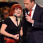 NLD/Utrecht/20060319 - Gala van het Nederlandse lied 2006, MIR, Mirjam Timmer en Sjors Frölich