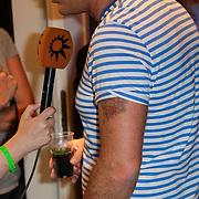 NLD/Amsterdam/20120519 - Toppers in Concert 2012, Jeroen van der Boom met tattoo op zijn arm