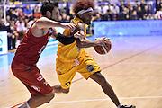 Washington Deron<br /> FIAT Torino - Olimpia Milano<br /> Lega Basket Serie A 2016-2017<br /> Torino 07/11/2016<br /> Foto Ciamillo-Castoria