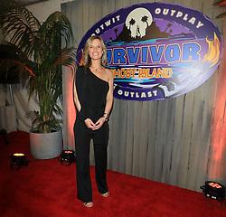 "Angela Perkins at the season 36 finale celebration of ""Survivor: Ghost Island"" held at CBS Television Studios in Los Angeles, CA."