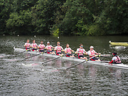 Henley Royal Regatta, Henley on Thames, Oxfordshire, 28 June - 2 July 2017.  Wednesday  09:36:05   28/06/2017  [Mandatory Credit/Intersport Images]<br /> <br /> Rowing, Henley Reach, Henley Royal Regatta.<br /> <br /> The Thames Challenge Cup<br />  Kingston Rowing Club