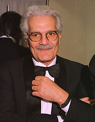 Actor OMAR SHARIF at a dinner in London on 22nd January 1999.<br /> MNK 9