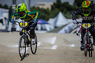 8 Boys #69 (SMITH Levi) RSA at the 2018 UCI BMX World Championships in Baku, Azerbaijan.