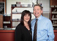 Dr Michael Goldstein and Dr Rochelle Bien of the Holistic Center at Bristol Square in Walpole MA