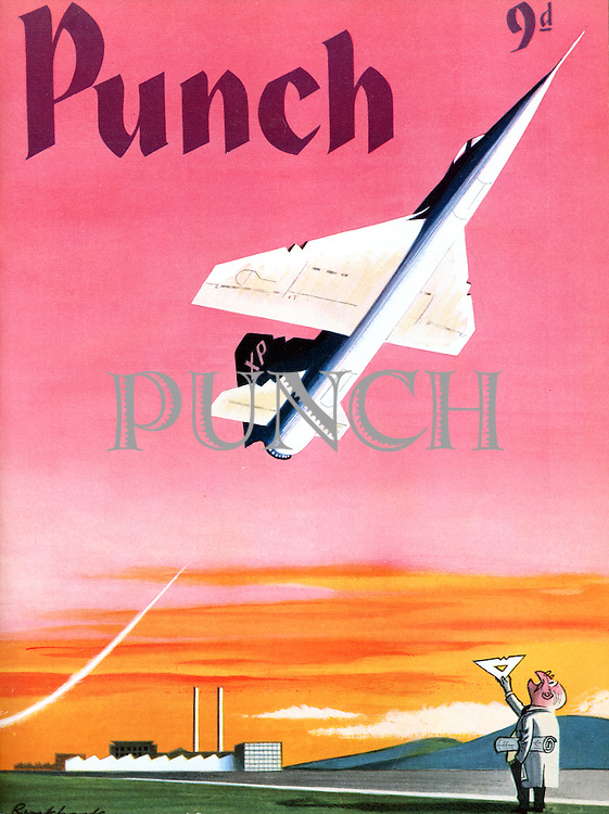 Punch (Front cover, 6 Septmber 1961)