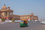Rashtrapati Bhavan (Hindi for President House) is the official home of the President of India. New Delhi, India