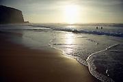 Dawn swimmers, Redhead Beach