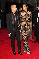 © Licensed to London News Pictures. 05/12/2016. JULIEN MACDONALD and NICOLE SCHERZINGER arrives for The Fashion Awards 2016 celebrating the best of British and international fashion. London, UK. Photo credit: Ray Tang/LNP