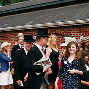 Spectators arrive for The Royal Meeting Race meeting, Royal Ascot. England, UK. June 16-20th, 2009. Photo Tim Clayton