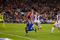 Atletico de Madrid's player Yannick Carrascoduring match of La Liga between Atletico de Madrid and RCD Espanyol at Vicente Calderon Stadium in Madrid, Spain. December 03, 2016. (ALTERPHOTOS/BorjaB.Hojas)