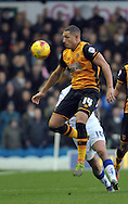 Jake Livermore of Hull City in action during the Sky Bet Championship match at Elland Road, Leeds<br /> Picture by Graham Crowther/Focus Images Ltd +44 7763 140036<br /> 05/12/2015
