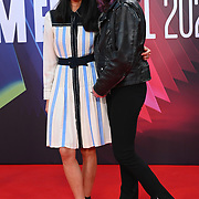 Morgane Polanski and Mimi Xu attended King Richard | BFI London Film Festival 2021, 15 October 2021 Southbank Centre, Royal Festival Hall, London, UK.