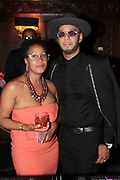 New York, NY- May 22: (L-R) Chef Leslie Parks and Kazeem Dean aka Swizz Beatz attend the Gordon Parks Foundation Awards Dinner & Auctionn: Celebrating the Arts & Humanitarianism held at Cipriani 42nd Street on May 22, 2018 in New York City.   (Photo by Terrence Jennings/terrencejennings.com)