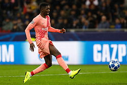 November 7, 2018 - Milan, Italy - Ousmane Dembele of Barcelona during the Group B match of the UEFA Champions League between FC Internazionale and FC Barcelona on November 6, 2018 at San Siro Stadium in Milan, Italy. (Credit Image: © Mike Kireev/NurPhoto via ZUMA Press)