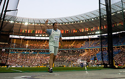 Primoz Kozmus of Slovenia  competes in the men's Hammer Throw Final during day three of the 12th IAAF World Athletics Championships at the Olympic Stadium on August 17, 2009 in Berlin, Germany. (Photo by Vid Ponikvar / Sportida)