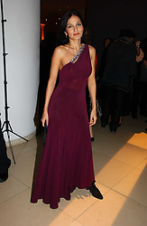 YASMIN MILLS at a Burns Night dinner in aid of CLIC Sargent and Children's Hospice Association Scotland held at St.Martin's Lane Hotel, St.Martin's Lane, London on 25th January 2007.<br />