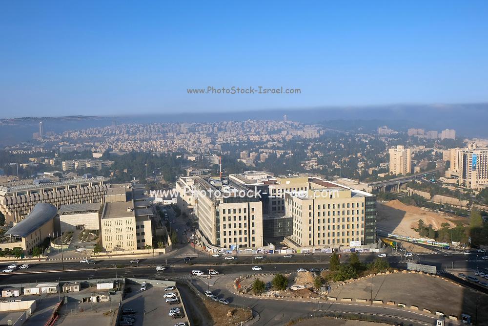 Jerusalem, Israel modern cityscape
