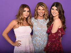 LOS ANGELES - AUGUST 13: (L-R) Isabella Giannulli, Lori Loughlin and Olivia Giannulli at FOX's 'Teen Choice 2017' at the Galen Center on August 13, 2017 in Los Angeles, California. (Photo by Frank Micelotta/FOX/PictureGroup)
