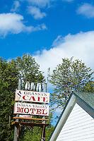 Granny's Cafe. Highway 101 on Olympic Peninsula, WA.