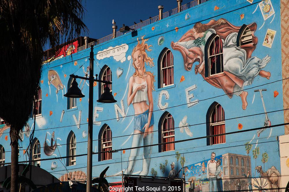 Near the boardwalk.<br /> Venice Beach story for LA Weekly