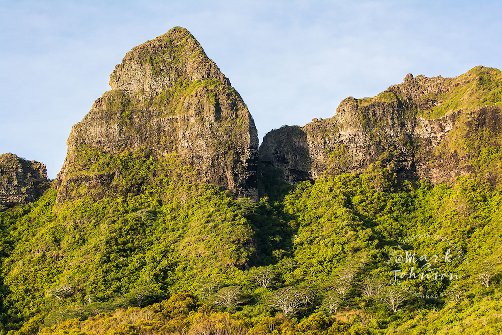 Kalalea Mountains, Anahola, Kauai, Hawaii, USA