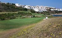 ALCAIDESA (Spain)  -  Hole 6.  Heathlands Golf Course en Links Golf. COPYRIGHT KOEN SUYK