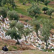 Cemetery in Fes, Morocco