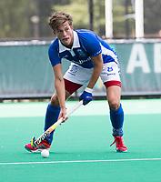 ROTTERDAM -  Casper Roelofs (Kampong)  tijdens de wedstrijd om de derde plaats tegen Oranje Rood bij de ABN AMRO cup. COPYRIGHT KOEN SUYK