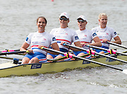 Amsterdam. NETHERLANDS.  GBR W4X. Bow. Kristina STILLER, Beth RODFORD, Victoria MEYER-LAKER and Lucinder GOODERHAM.  De Bosbaan Rowing Course, venue for the 2014 FISA  World Rowing. Championships.  . 13:25:21  Saturday  30/08/2014  [Mandatory Credit; Peter Spurrier/Intersport-images]