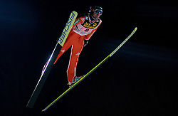 Dimitry Vassiliev (RUS) competes during First round of the FIS Ski Jumping World Cup event of the 58th Four Hills ski jumping tournament, on January 6, 2010 in Bischofshofen, Austria. (Photo by Vid Ponikvar / Sportida)