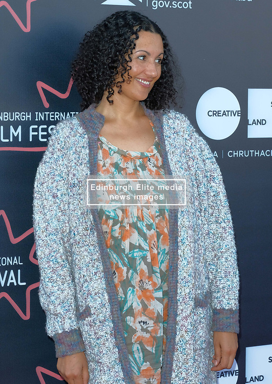 Edinburgh International Film Festival, Thursday, 21st June 2018<br /> <br /> Jury Photocall<br /> <br /> Pictured:  Miriam Bale of the Shorts Jury<br /> <br /> (c) Alex Todd | Edinburgh Elite media