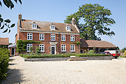 View of the main house at Hares Farm CREDIT: Vanessa Berberian for The Wall Street Journal<br /> UKFARM-Hares Farm