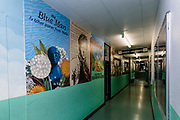 MERTHYR TYDFIL, WALES - 19 JUNE 2020: Pen-Y-Dre High School prepares to welcome back its students on the 29th of June during the coronavirus pandemic.