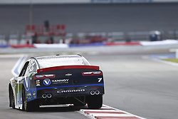 September 27, 2018 - Concord, North Carolina, United States of America - Justin Allgaier (7) races down the back straightaway during practice the Drive for the Cure 200 at Charlotte Motor Speedway in Concord, North Carolina. (Credit Image: © Chris Owens Asp Inc/ASP via ZUMA Wire)