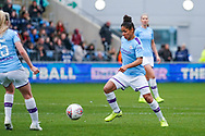 Manchester City Women defender Demi Stokes (3) in action during the FA Women's Super League match between Manchester City Women and West Ham United Women at the Sport City Academy Stadium, Manchester, United Kingdom on 17 November 2019.