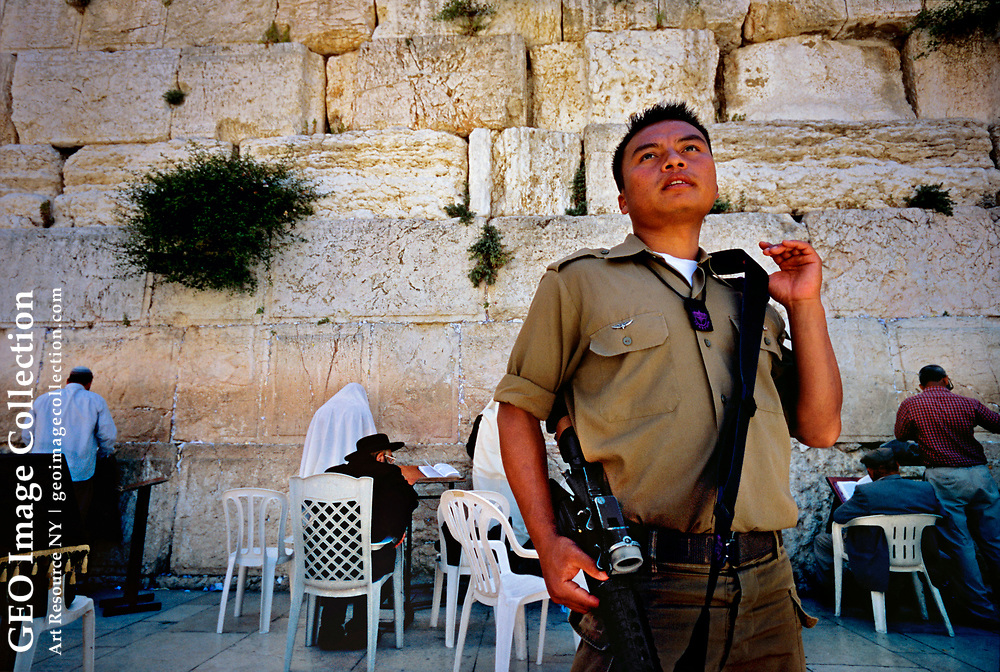 One of the most demanding outposts of the global Indian Diaspora is Israel, home today to some 75,000 Indian Jews.  In Jerusalem, Private First Class Tamir Baite, an Israeli Army sniper and immigrant from northeast India, guards the Western Wall--one of the most holy places in Judaism and Islam.