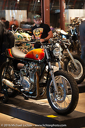 Handbuilt Motorcycle Show. Austin, TX, USA. April 10, 2016.  Photography ©2016 Michael Lichter.