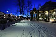The restaurant Kappeli (Chapel) in Helsinki, Finland. The Kappeli has been here since 1867.