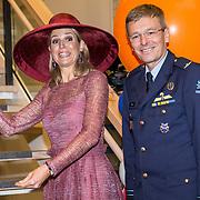 NLD/Utrecht/20190619 - Maxima heropent Centraal Militair Hospitaal, Koningin Maxima heropent het ziekenhuis samen met Luitenant-Generaal Mario Verbeek