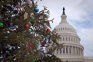 U.S. Capitol Building at Christmas