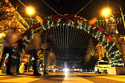 Natal Luz em Gramado. Ruas de Gramado decoradas. Foto: Marcos Nagelstein