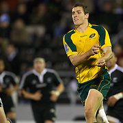 Luke Monahan, Australia, in action during the Australia V New Zealand Final match at the IRB Junior World Championships in Argentina. New Zealand won the match 62-17 at Estadio El Coloso del Parque, Rosario, Argentina. 21st June 2010. Photo Tim Clayton..
